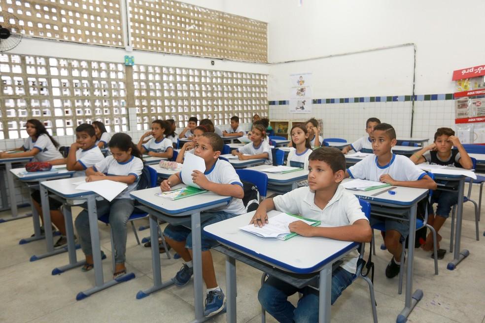 No ano letivo de 2018, são esperados 12 mil novos estudantes nas 139 escolas de Jaboatão (Foto: Matheus Britto/PJG/Divulgação)