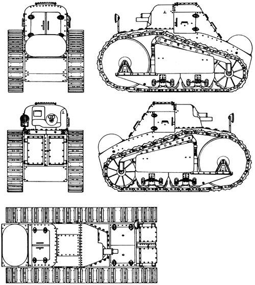 Blindado Peugeot 1918