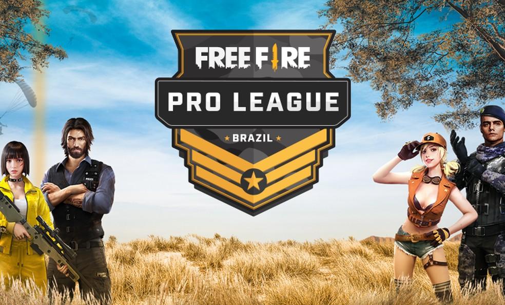 Segunda temporada da Free Fire Pro League será transmitida no YouTube — Foto: Divulgação/Free Fire Brasil