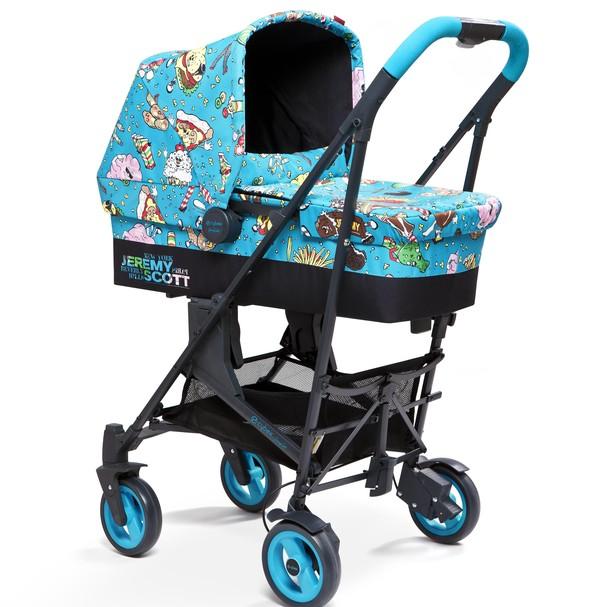 Nova linha de carrinhos para bebês assinadas por Jeremy Scott (Foto: Divulgação)