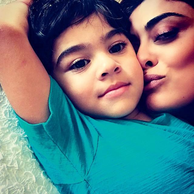 Juliana Paes com o filho Antônio (Foto: Este é Antônio, 4 anos (Foto: Reprodução / Instagram))
