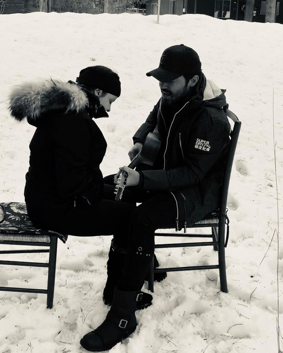 Fernando Zor anuncia fim do relacionando com Maiara — Foto: Reprodução/Instagram