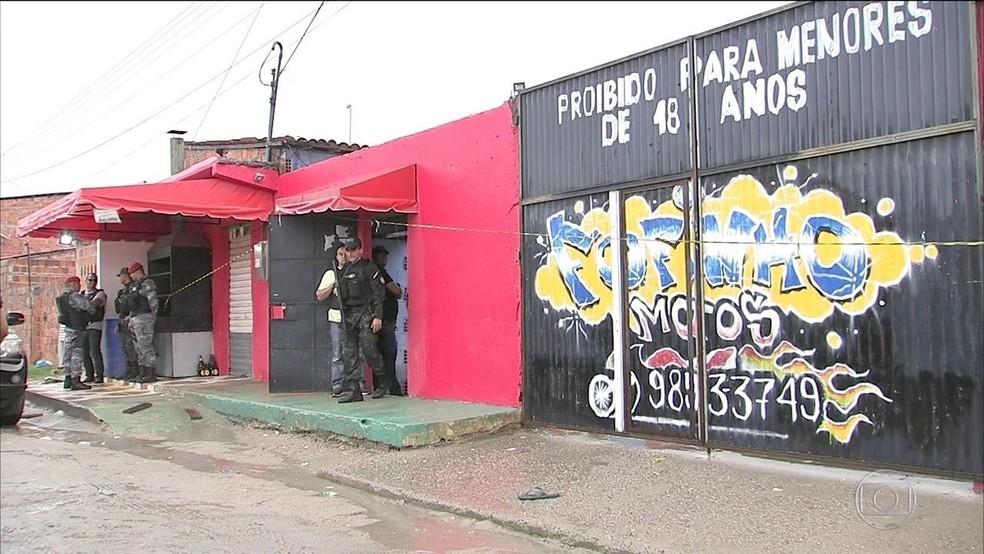 'Sociedade do Anel' é responsável pela matança no clube Forró do Gago, a maior chacina já ocorrida no Ceará — Foto: SVM