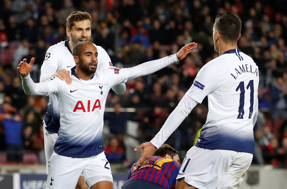Lucas Moura Barcelona x Tottenham ? Foto: Reuters