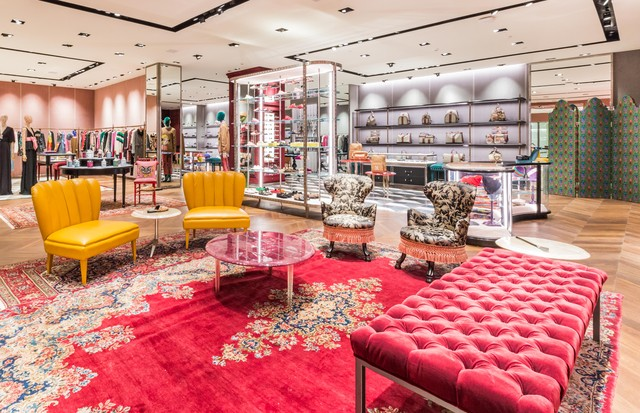 Por dentro do novo décor da Gucci no shopping Iguatemi (Foto: Divulgação)