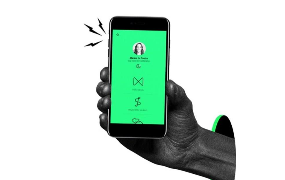 Conta do Next é aberta pelo aplicativo do serviço para smartphones — Foto: Divulgação/Next