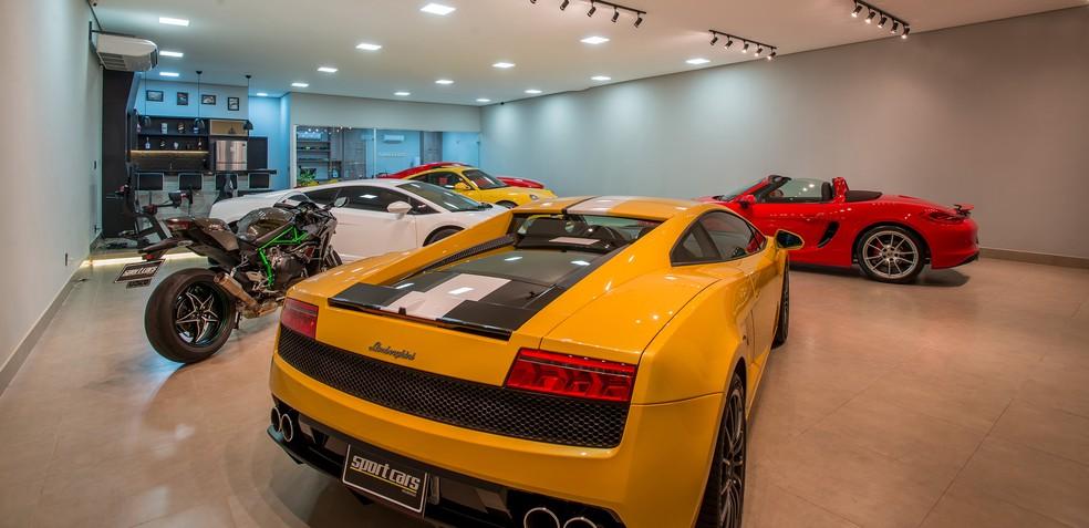 Loja vende veículos de luxo e importados — Foto: Divulgação