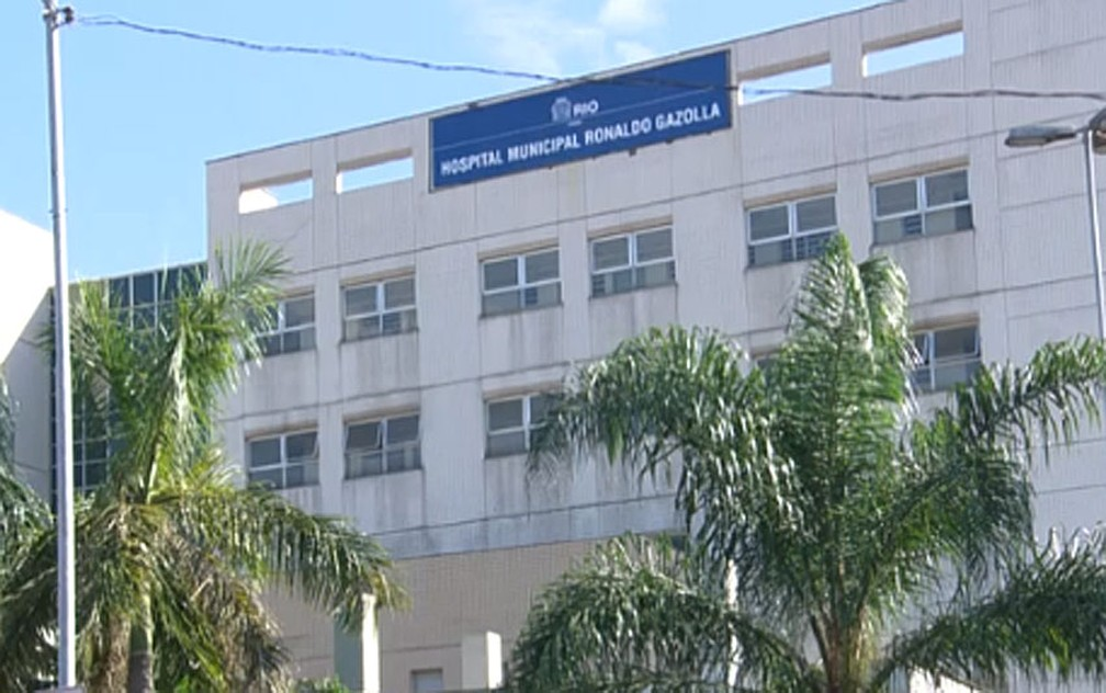 Hospital Ronaldo Gazolla é referência para pacientes de Covid-19 no Rio de Janeiro — Foto: Reprodução/TV Globo