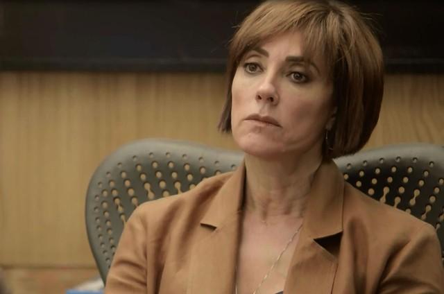Christiane Torloni é Carmen em 'O tempo não para' (Foto: Reprodução)