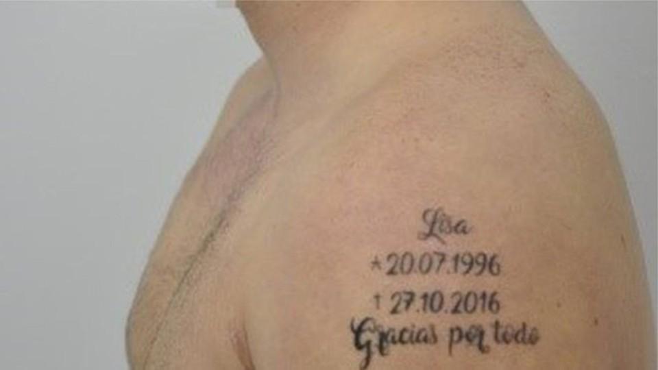 A tatuagem que causou espanto