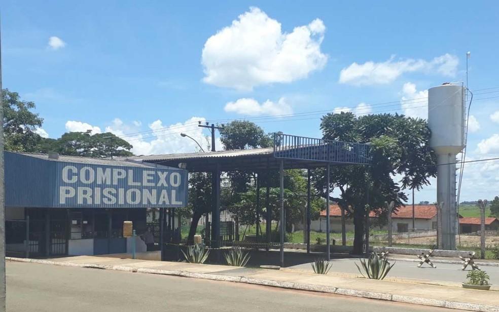 Complexo Prisional de Aparecida de Goiânia, onde João de Deus está preso — Foto: Vitor Sanatana/G1