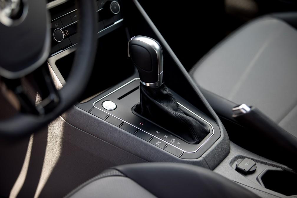 Volkswagen Virtus 1.0 turbo só terá opção de câmbio automático (Foto: Marcelo Brandt/G1)
