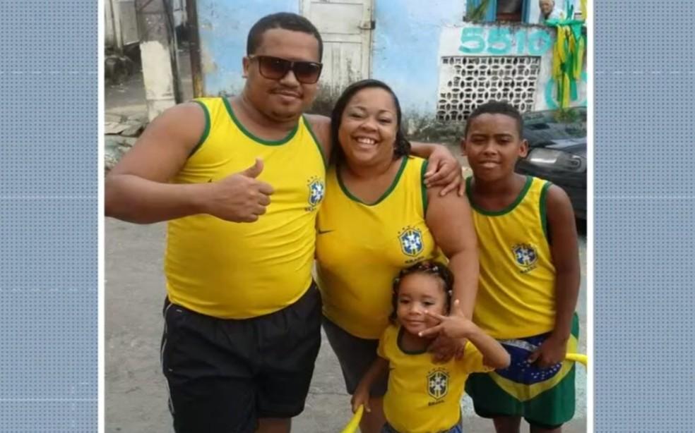 Taíse Santos da Conceição, gestante que morreu aguardando regulação na UPA de San Martin — Foto: Reprodução/TV Bahia