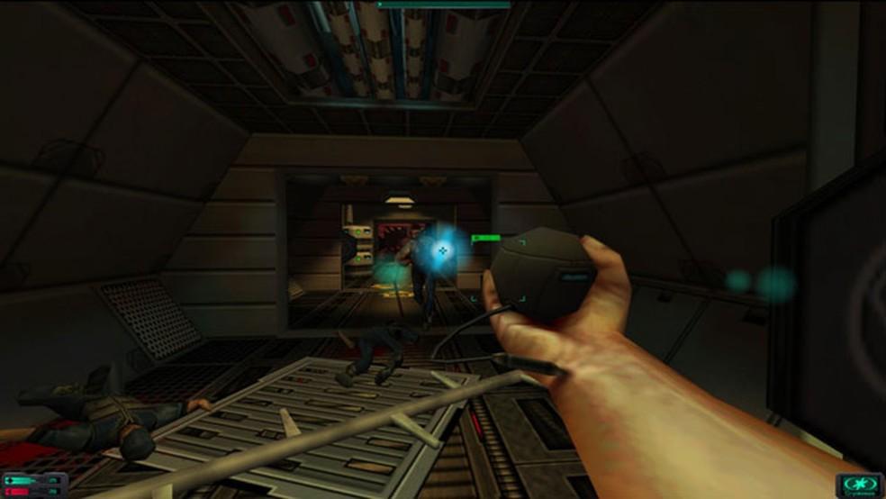 System Shock 2 trouxe conceitos inovadores para os games de tiro — Foto: Divulgação/Steam