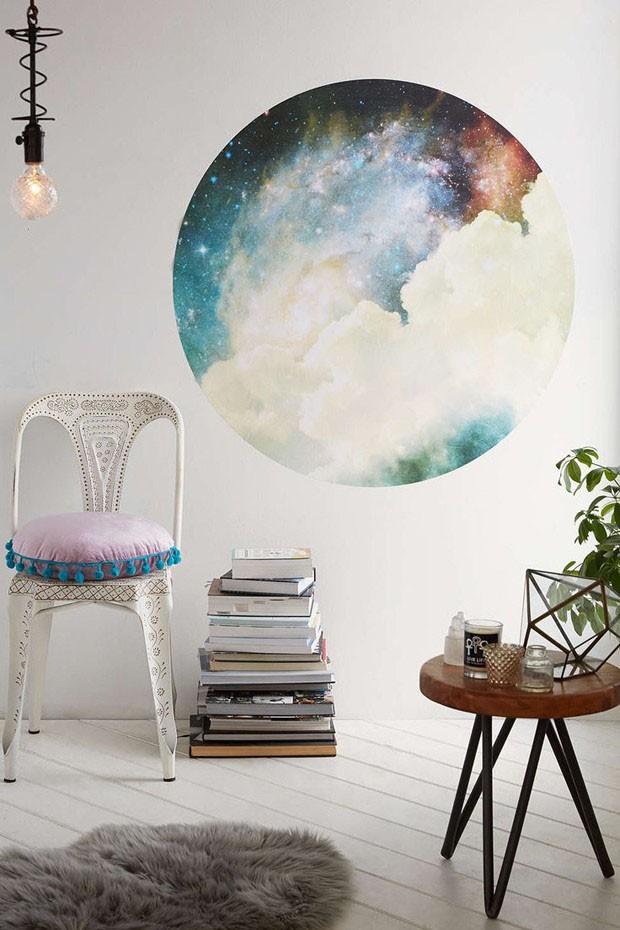 Décor do dia: universo inspira cantinho de leitura (Foto: Reprodução)