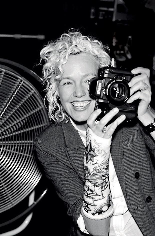 Retrato de Ellen von Unwerth, em 2007.  (Foto: Divulgação)
