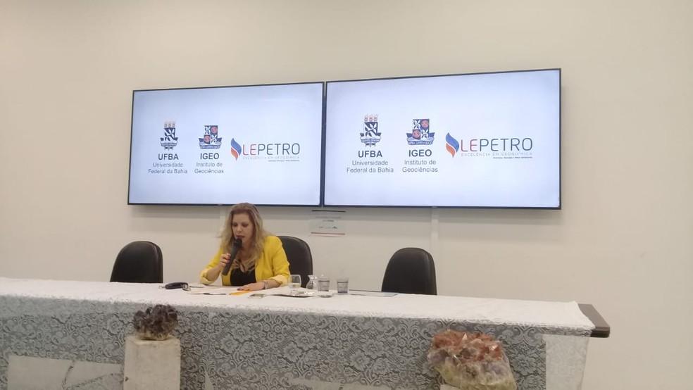 Olivia Oliveira, diretora do Instituto de Geociências da Universidade Federal da Bahia (UFBA) — Foto: Cid Vaz/TV Bahia