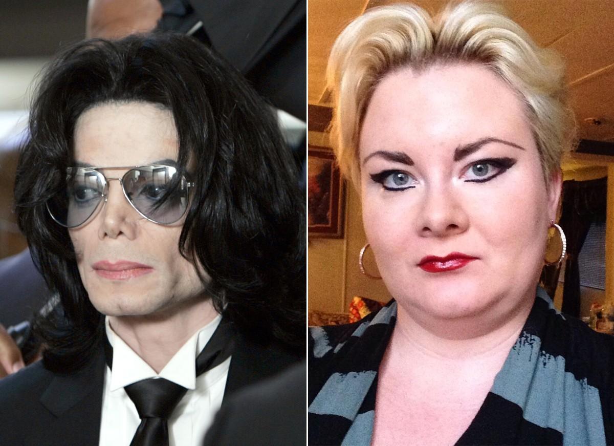 O fantasma de Michael Jackson estaria supostamente casado com Kathleen Roberts (Foto: Getty Images e Reprodução / Instagram)