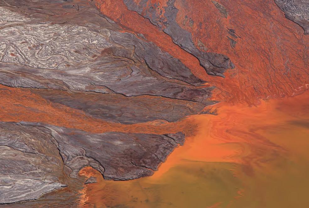 Mina de Brucutu, a maior da Vale em Minas Gerais, em São Gonçalo do Rio Abaixo — Foto: Júlia Pontés/Divulgação