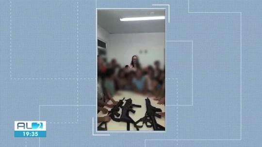 Imagens de crianças manuseando armas provocam polêmica em Igaci, AL