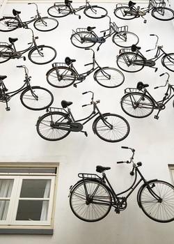 bicycle-wall-amsterdã-pulitzer-amsterdam (Foto: Reprodução/Instagram)