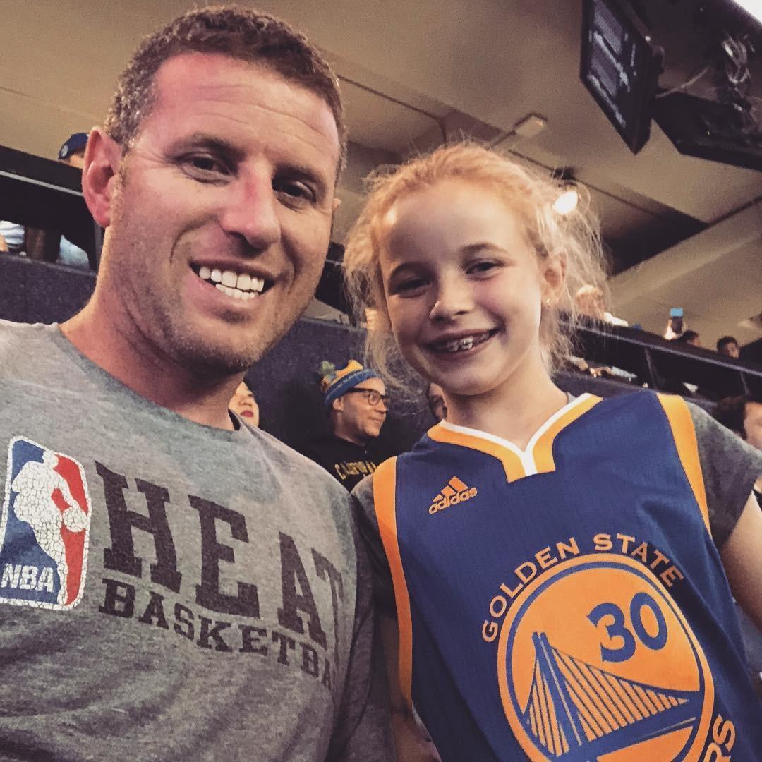 Riley e o pai (Foto: Instagram)