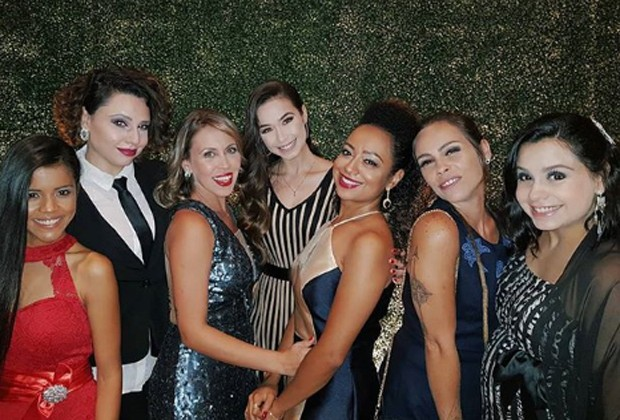 Giselle Medeiros, Francis Helena, Mariane Oliva, Victória Rocha, Aretha Oliveira, Gisele Frade e Laura Feliciano (Foto: Reprodução/Instagram)