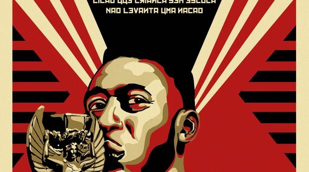 Obras misturam arte russa e brasileira por conta da Copa do Mundo (Foto: Divulgação)