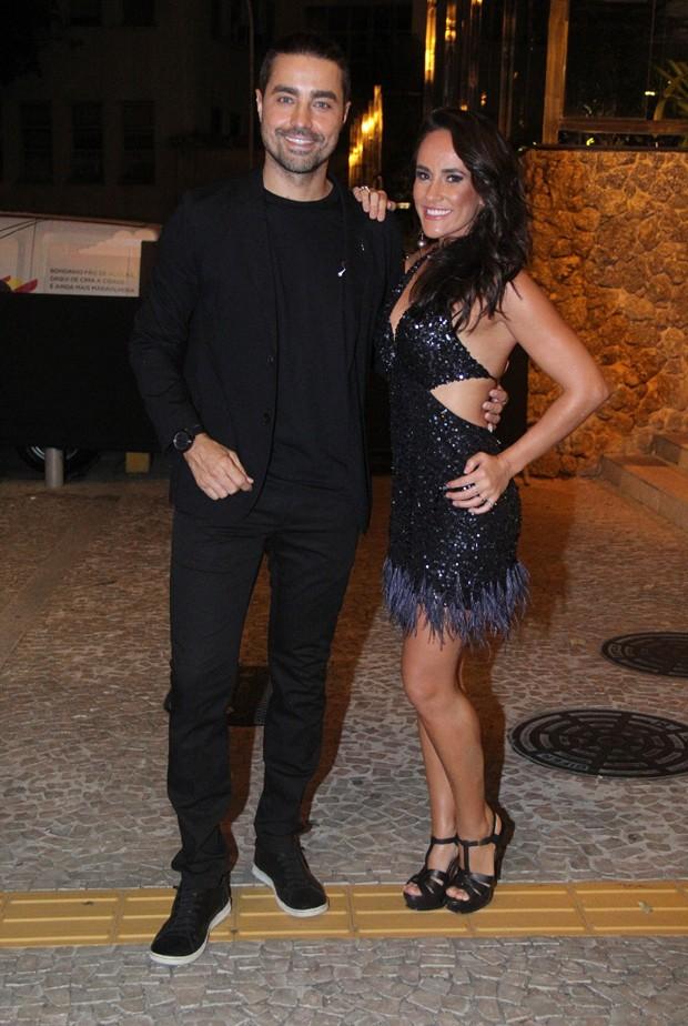 Ricardo Pereira e a mulher, Francisca Pinto (Foto: Wallace Barbosa/Agnews)