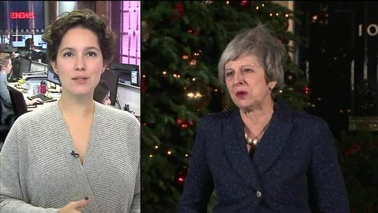 Theresa May diz que novo plebiscito quebraria confiança do povo