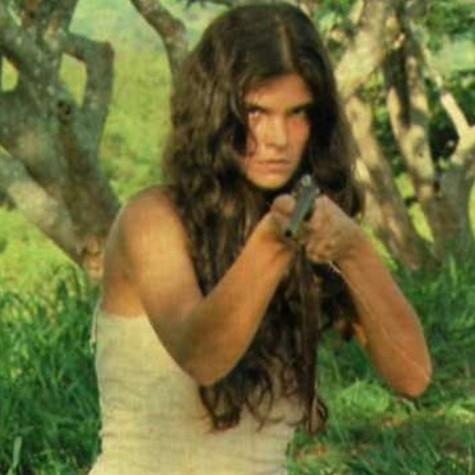 Cristiana Oliveira, a Juma Marruá da versão original de 'Pantanal' (Foto: Reprodução)