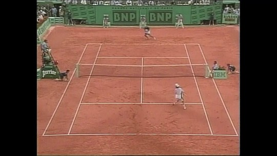Quartas de final de Fernando Meligeni em Roland Garros 1999