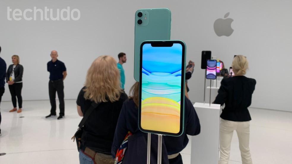 Novo iPhone 11 foi apresentado pela Apple — Foto: Thássius Veloso/TechTudo