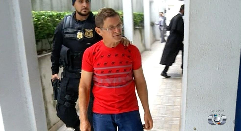Acusade matar ex-mulher vai a júri popular (Foto: Reprodução/TV Anhanguera)