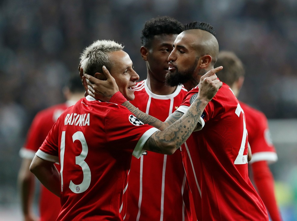 Arturo Vidal deixa o Bayern de Munique rumo ao Barcelona (Foto: Murad Sezer / Reuters)