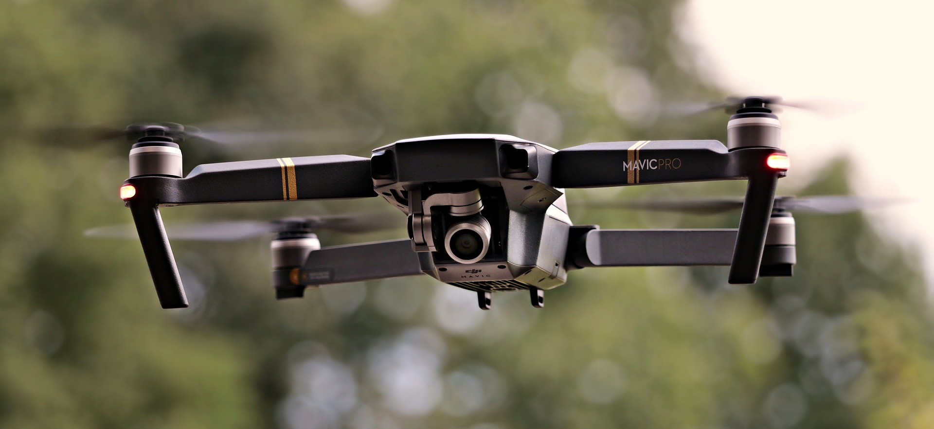 Drone durante voo (Foto: Pixabay)