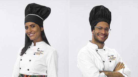 Maria Joana e Rainer Cadete estão na Panela de Pressão do 'Super Chef Celebridades'