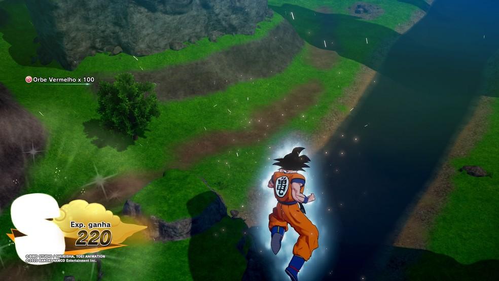 Os gráficos de Dragon Ball Z: Kakarot: cenários se destacam — Foto: Reprodução/Felipe Vinha