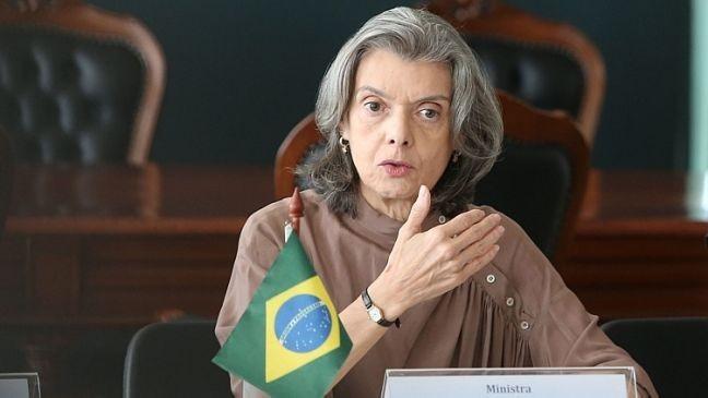 Ministra Cármen Lúcia, presidente do STF