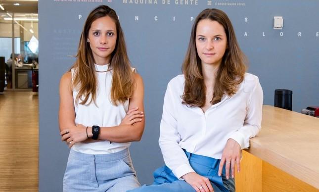Monica Saggioro Leal e Lara Lemann, fundadoras da Maya Capital