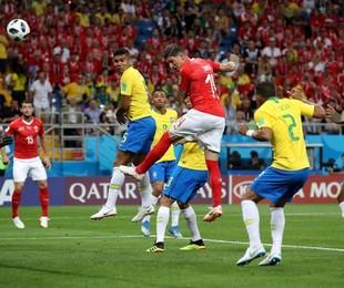 Imagem da partida entre Brasil e Suíça | Marko Djurica / Reuters