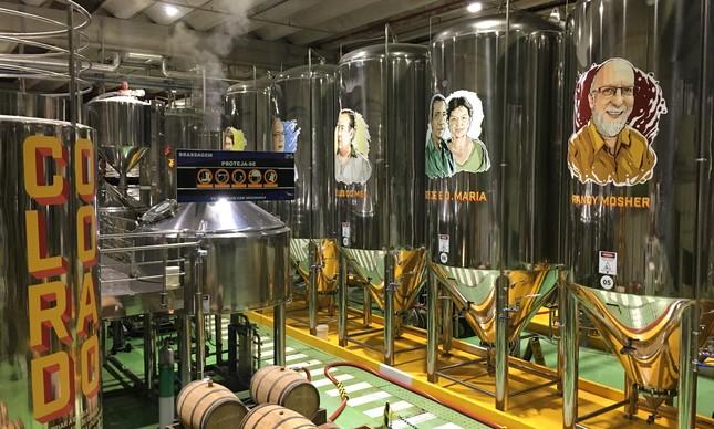 Visitantes podem conhecer a fábrica da Colorado aos sábados