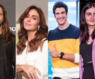 Vladimir Brichta, Giovanna Antonelli, Mateus Solano e Valentina Herszage | Divulgação