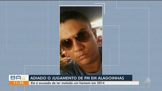 Quatro anos após crime, julgamento de tenente suspeito de matar homem em restaurante de shopping na BA é adiado