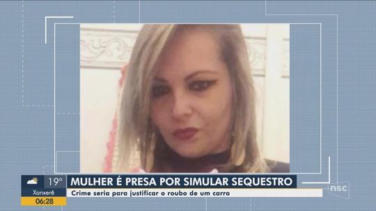 Mulher considerada desaparecida é presa com namorado em praia por tentativa de latrocínio de amigo em SC