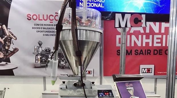 Máquina Multi Festa da MCI (Foto: Mariane Reghin)
