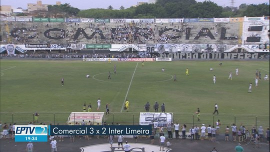 Eric Di Maria faz 2 gols, comanda vitória e classificação do Comercial sobre Inter de Limeira