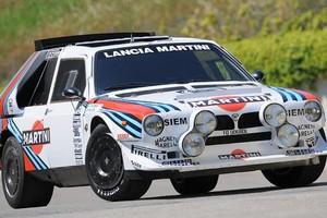 Lancia Delta, campeã nas pistas de rali