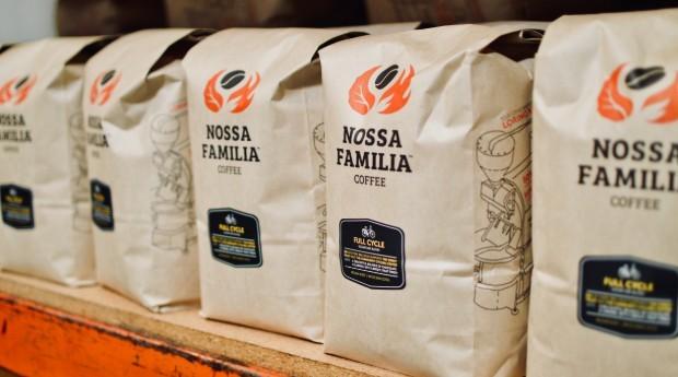 Pacotes de café da empresa (Foto: Divulgação)