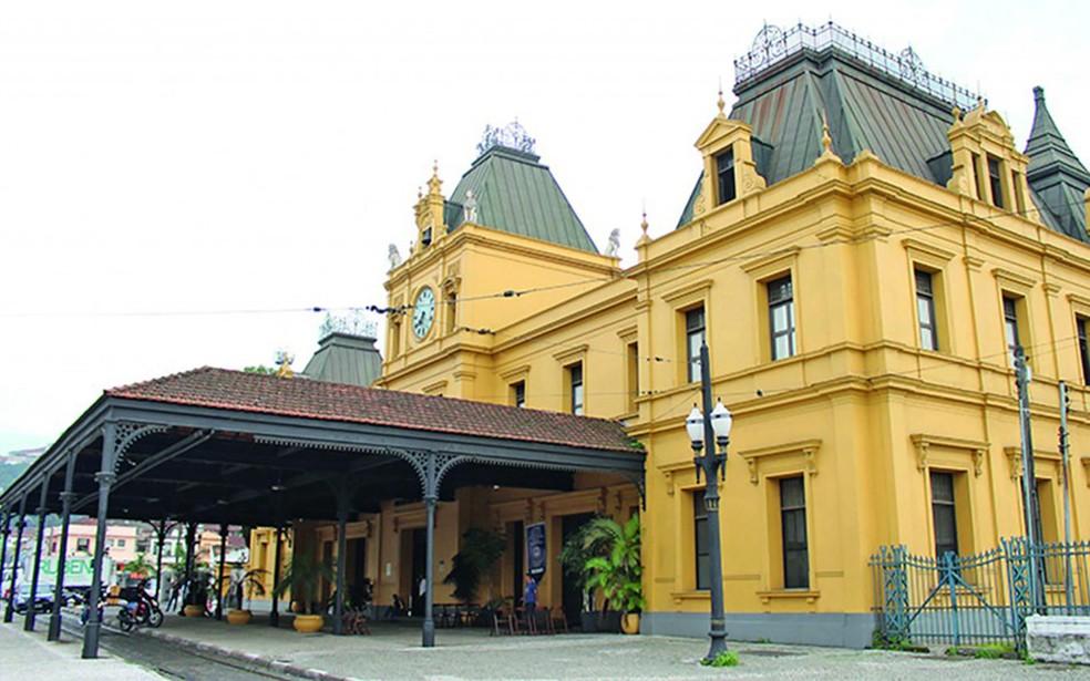 Restaurante-escola está localizado na estação do Valongo — Foto: Imprensa UniSantos